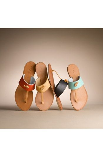 Joie a la Plage 'Nice' Leather Thong Sandal! I sooo want a pair