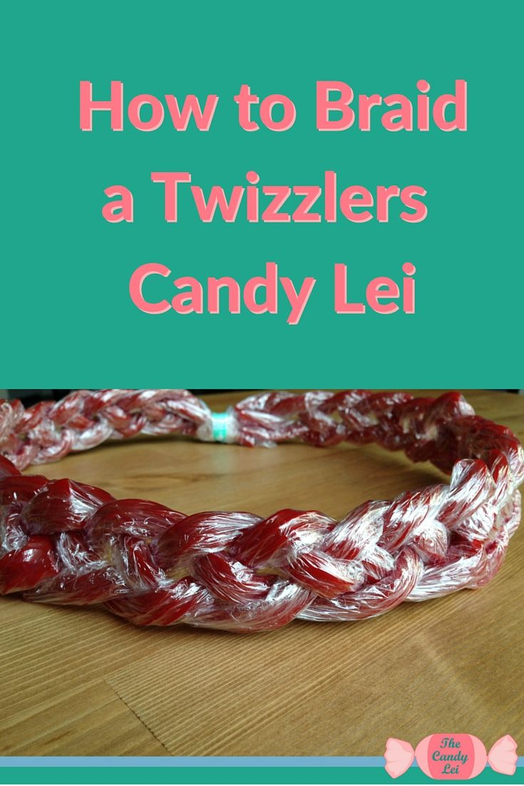 How to Make a Candy Lei Out of Twizzlers | The o'jays ...