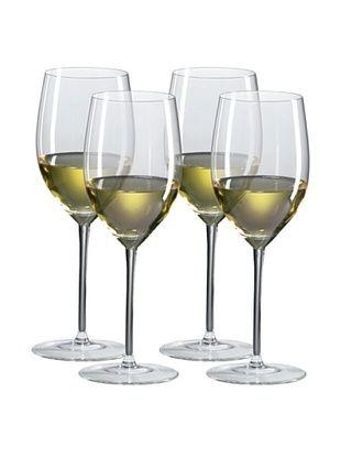 Ravenscroft Crystal Set of 4 Chardonnay/Mature Red Glasses, 14-Oz.