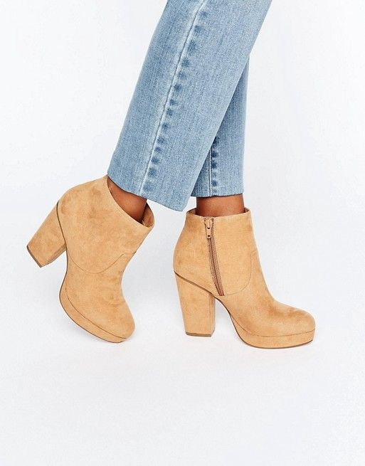 ASOS | ASOS EDISON Heeled Ankle Boots