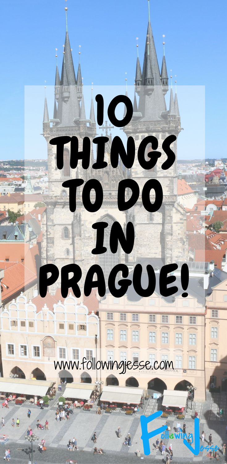 Prague, or Praha as the locals call it, is one of the most beautiful cities in the world! Here is a list of the 10 things you must do when you're in Prague!