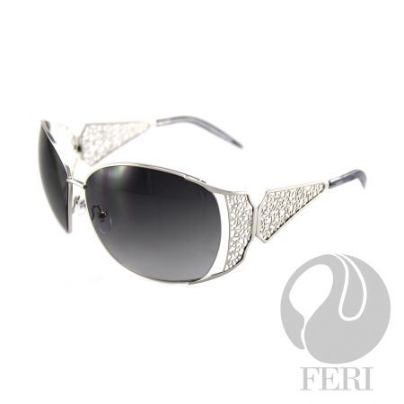 FERI Avro - Pewter Shield - FERI frames are manufactured in Italy - Lenses are UV 400 and provide protection against harmful UV rays - Mazzucchelli acetate is used - Mazzucchelli is the world leader in acetate production - Acetate is a hypo allergenic plastic - Acetate is used for its shine, color depth and durability  Invest with confidence in FERI Designer Lines.