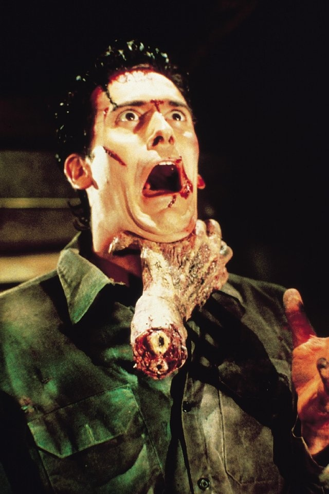 Bruce Campbell. Evil Dead II. With any luck, I'll get to do shit like this on the reg.
