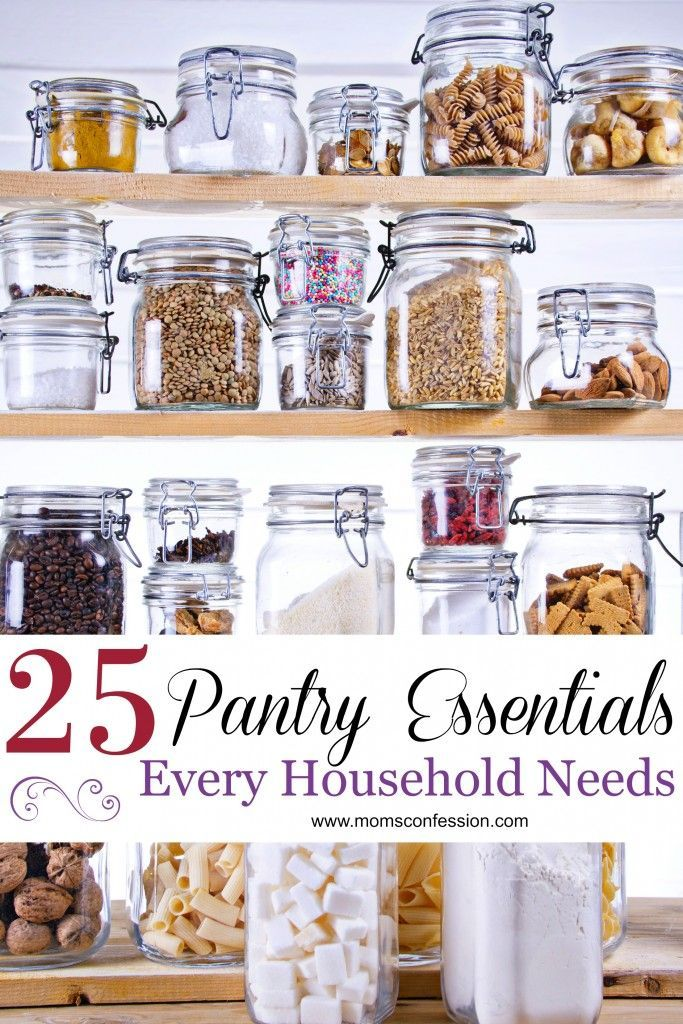 Kitchen hacks like these 25 pantry essentials every household needs are what makes it easy for busy moms to manage weeknight meals and create family recipe ideas everyone will love!