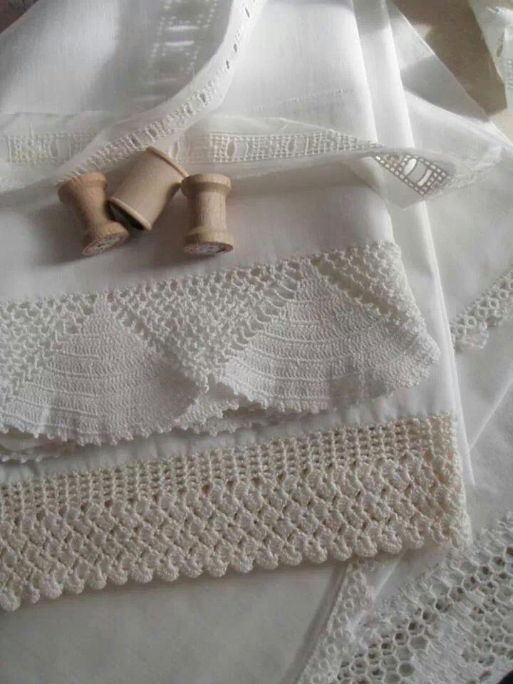 Crochet Sheets Detail
