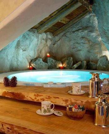 perfect mountain pool