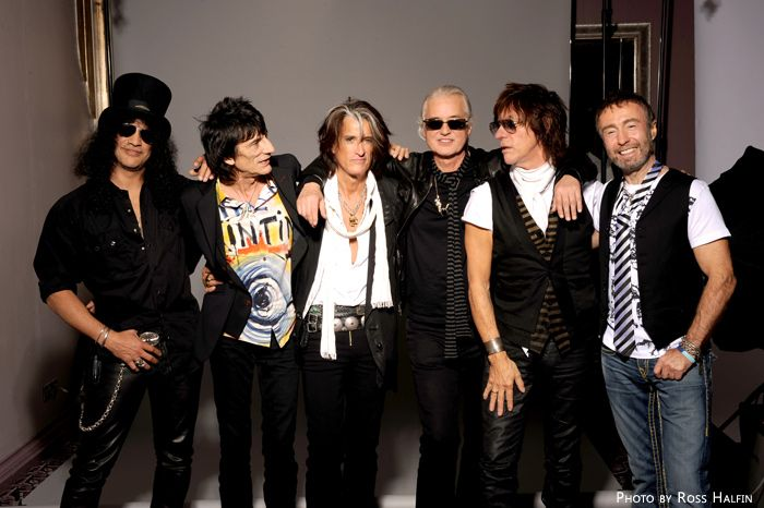 Slash,Ron Wood,Joe Perry,Jimmy Page,Jeff Beck & Paul Rodgers