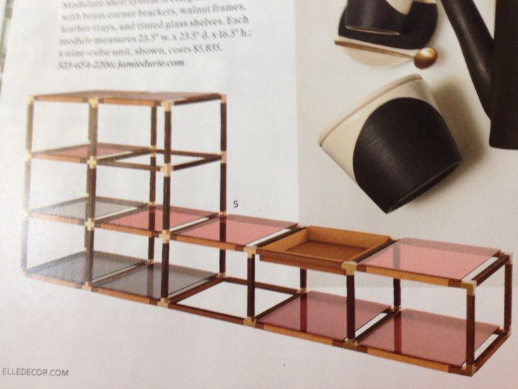 Jamie Durie's Rainbow Modulare shelf system