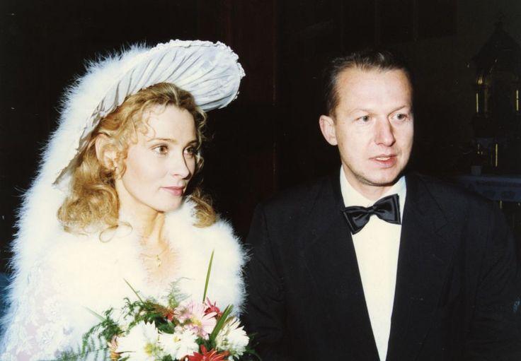 Maria Gładkowska i Bogusław Linda