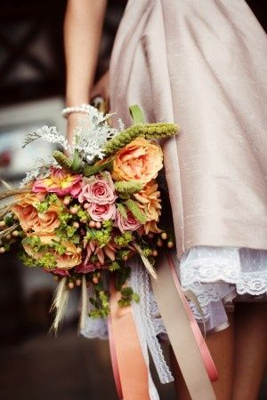 Bouquet with pretty ribbons.....all-things-bright-and-beyootiful:    Eternal Reflections Photography