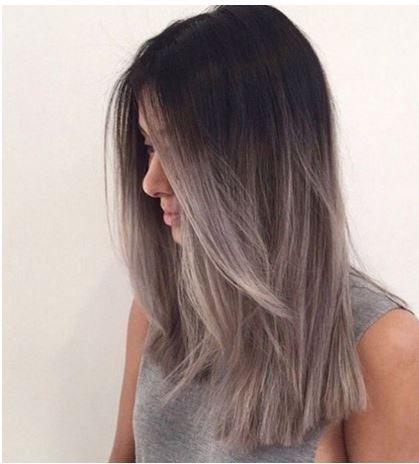 küllü gri ombre saç rengi 2016