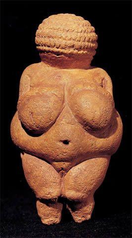 """En esta """"Venus prehistórica"""", sus pechos recuerdan a la letra omega..."""
