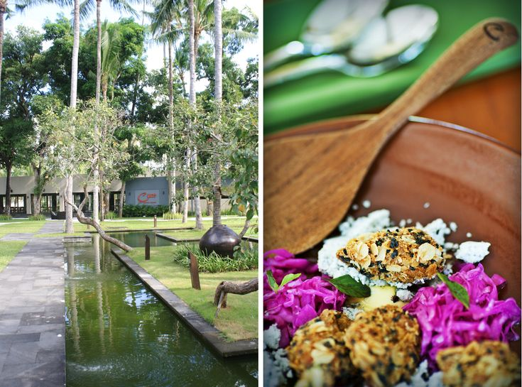 Cuca. Fabulous restaurant in Jimbaran in Bali. Featured in the book Lost Guides Bali.