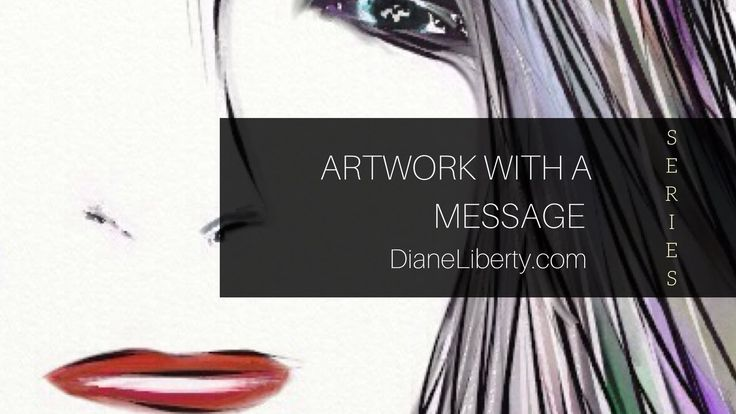 """""""Artsy Doodle No,.5"""" by Diane Liberty - YouTube"""