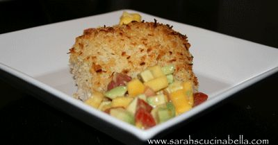 Coconut Crusted Mahi Mahi MMmm making this tonight for me and my lover :)