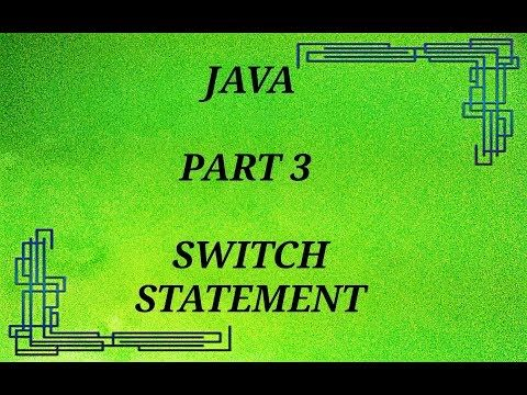 how to use switch statement in netbeans .must watch https://youtu.be/p-FwBuAMVcE hope you like it