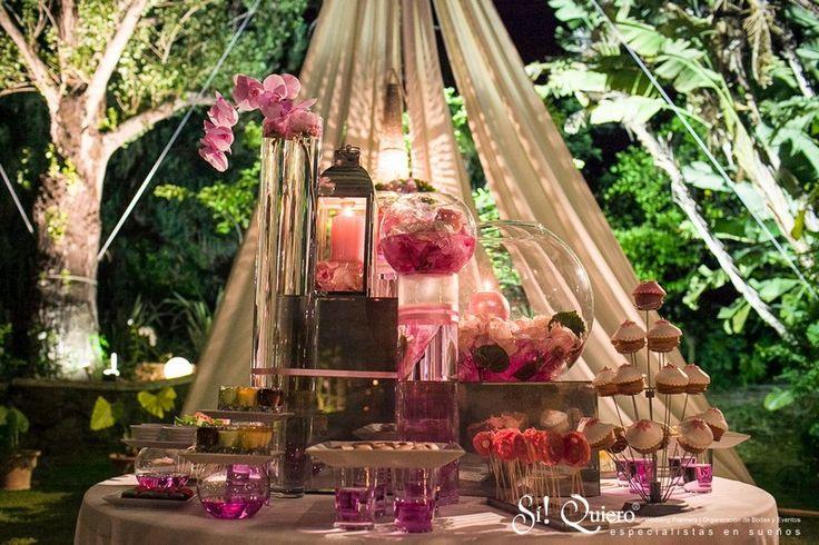 #Montaje del #Buffet // Buffet #Setup | Goyo #Catering (2014) #Wedding #Manilva #Boda #Buffet #Desserts #Postres Wedding Planner: @siquiero