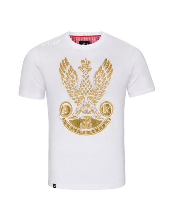 Koszulka patriotyczna Orzeł Armii Krajowej (BIAŁA)