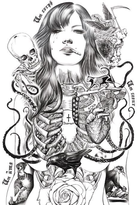 Addiction by Ise Ananphada, via Behance
