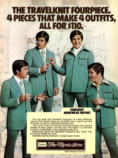 ...Maybe that hot outfit is why Sears eventually hit the skids...