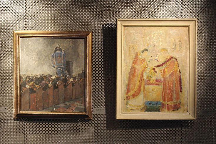 Aarreaitta. Näyttelykierros: Kohtaamisia – Suomalainen usko.
