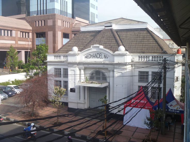 The Nedhandel NV building in Bandung.