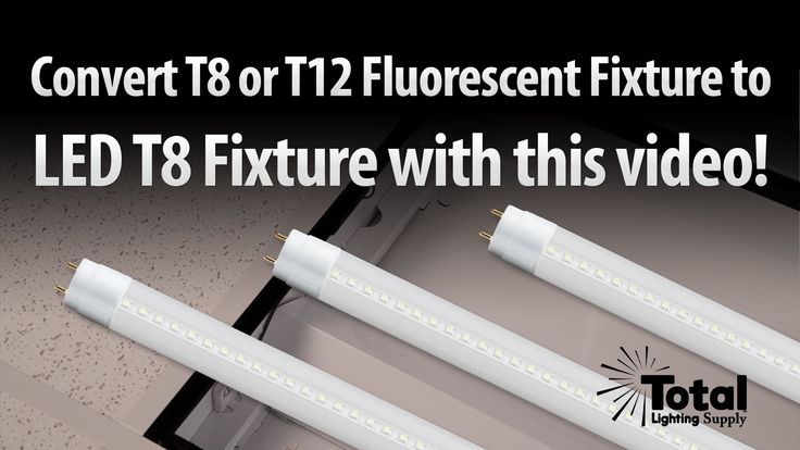 Fluorescent light to led conversion kit led shop lights