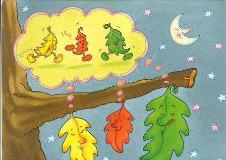 """Pronto llegará una nueva estación: el invierno y le diremos adios al otoño. Os dejo el cuento de otoño: """"Las tres hojitas"""" que hemos cont..."""
