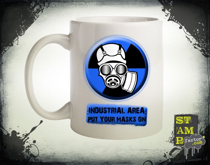 Put Your Masks On (Version 06) 2014 Collection - © stampfactor.com *MUG PREVIEW*