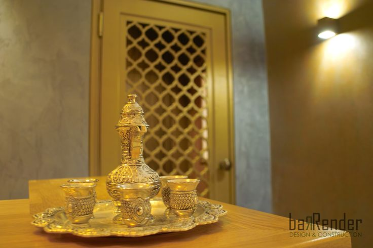 Arabesque details - Barbalexis Oriental Restaurant in Piraeus