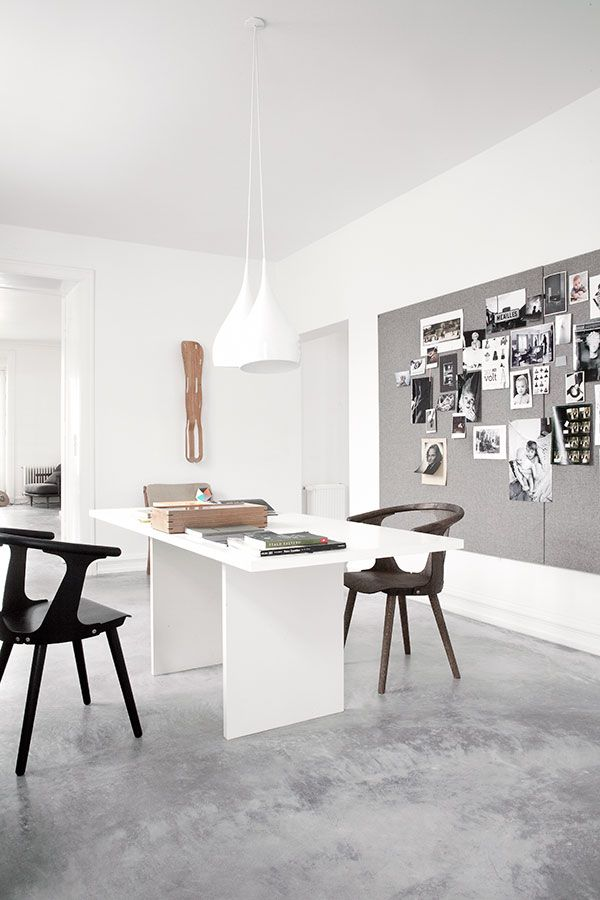 VADBAEK HOUSE IV- Norm Architects, Salad Days, white home, soft grey, black and tan details, beautiful light fixtures