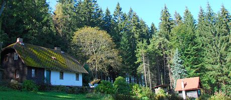 Rent this Bohemian Ways cottage in Hamry na Sumava, in the Czech Republic.