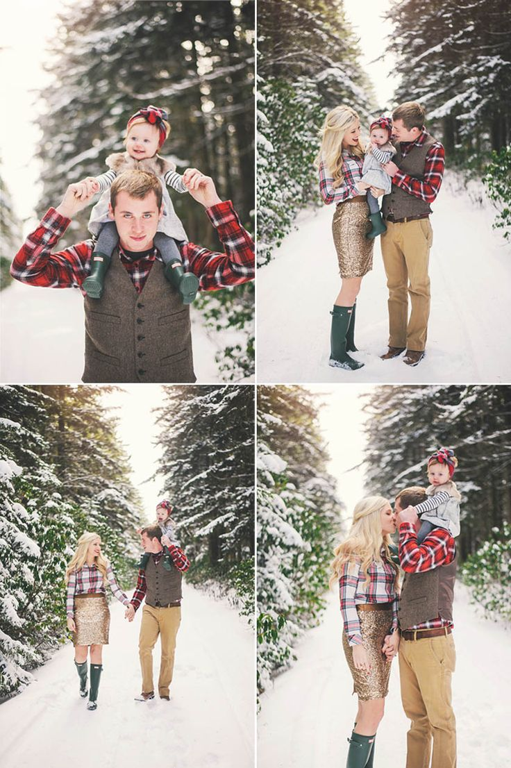 Lovely Winter Family Shoot By Connection Photography