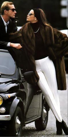 diva...love the white leggings