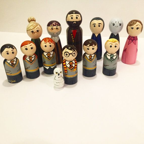 We hand paint each and every peg doll ourselves. So no two will every be exactly the same. But we do our absolute best to keep the theme and