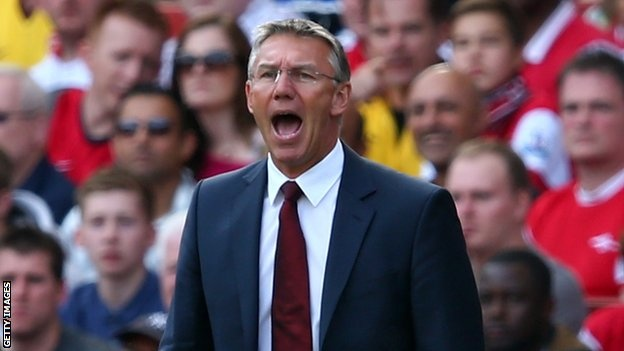 Nigel Adkins accepts he is favourite to become the first managerial casualty in the Premier League this season after Southampton suffered their eighth top-flight defeat of the campaign.