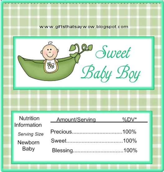 Candy bar wrapper template boys cute baby shower candy for Candy bar wrappers template for baby shower printable free