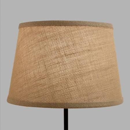 burlap lamp shade - Google Search