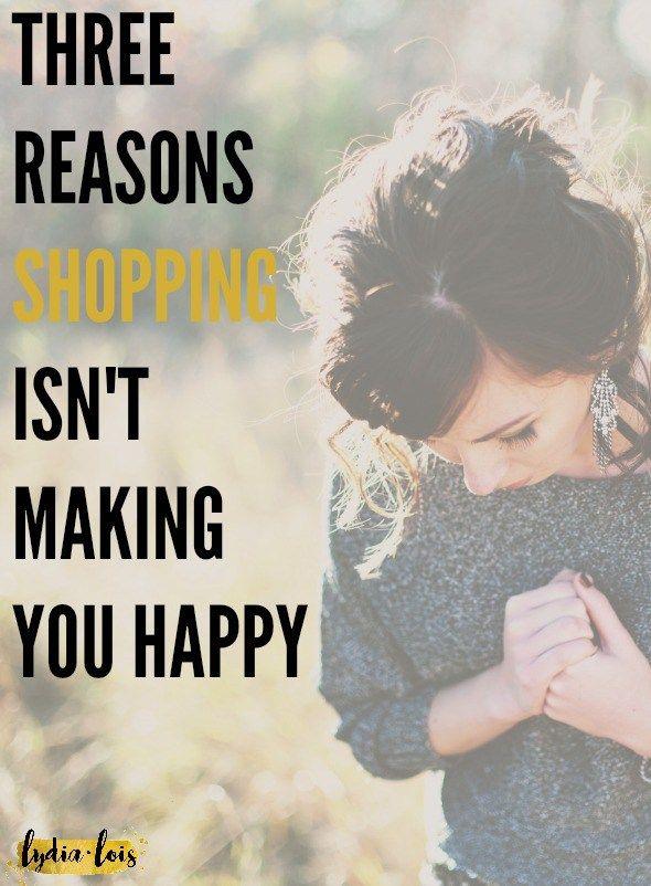 If you are continuing to look for happiness in your wallet or at the store you are not going to get anywhere. Today I'm breaking down why shopping is not making you happy even if you think it is! Click through to read why you shouldn't be spending so much money on things you don't even want!