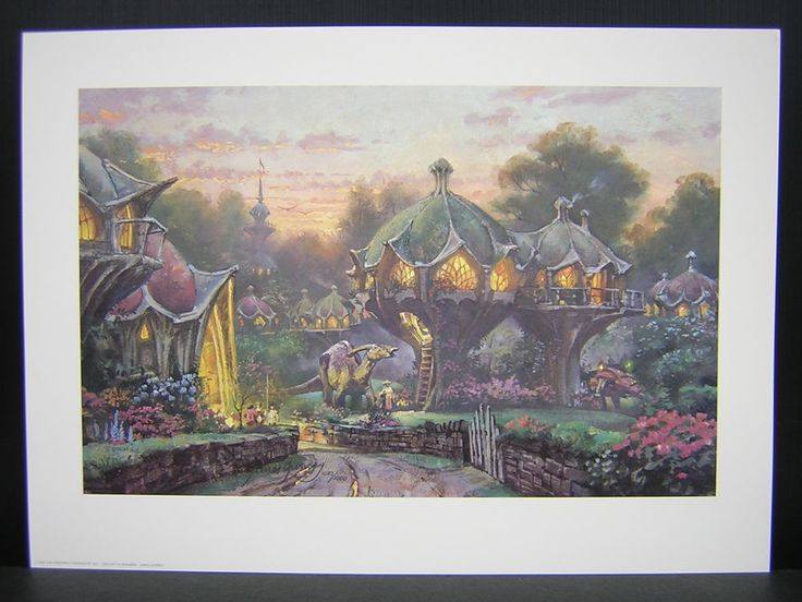 Twilight In Bonabba. James Gurney. This is a limited edition print by James Gurney. It was published in 1995. It is in near mint condition and has never been framed. | eBay!