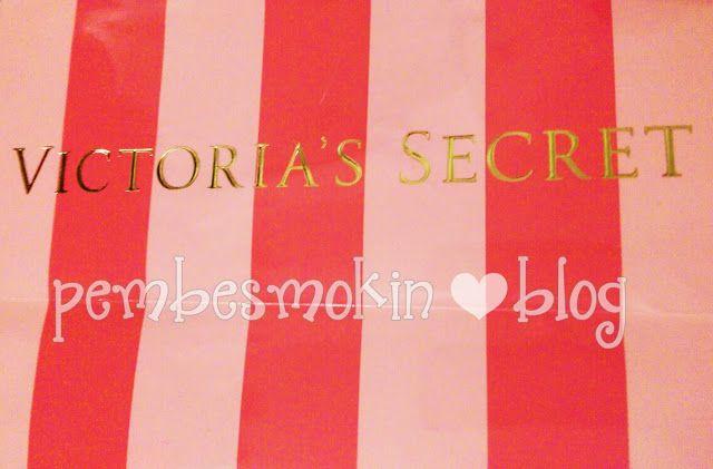 Pembe Smokin: Aşk'ın hediyesi Victoria's Secret :)