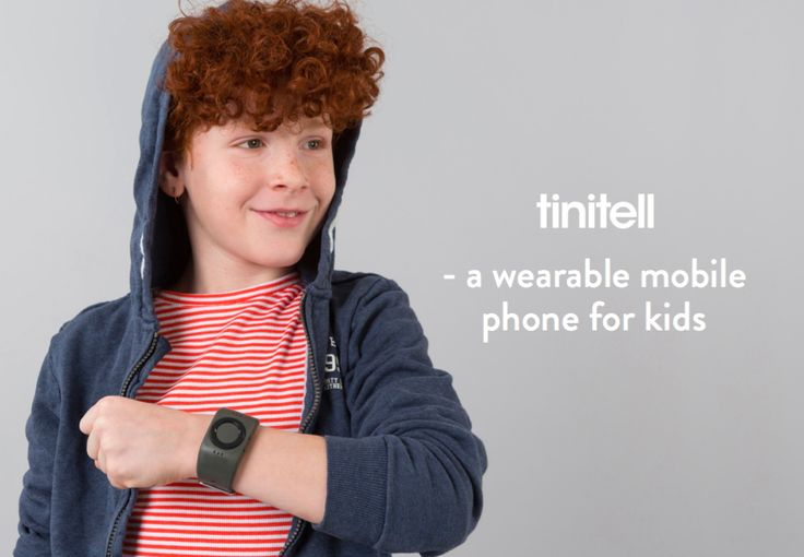 Tinitell is a wearable mobile phone for kids, with calling and GPS tracking features. Super simple, fun, and durable.