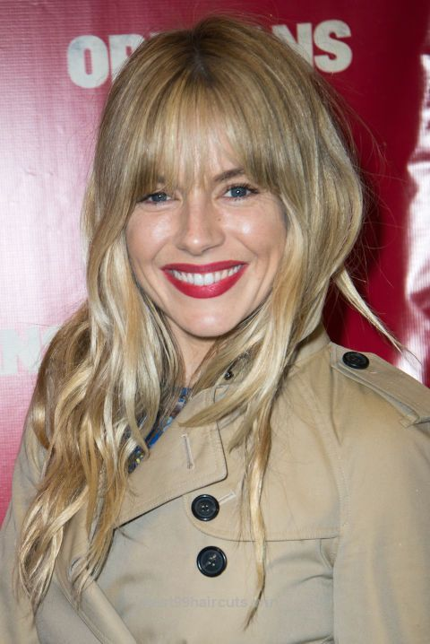Neat #11 – Sienna Miller's Eye-Skimming Bangs  #long #hairstyles #for #women #in #2017 #latest #haircuts #trends #trendy #cute  The post  #11 – Sienna Miller's Eye-Skimming Bangs   ..