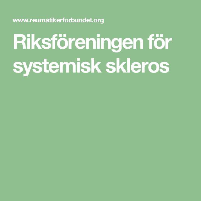 Riksföreningen för systemisk skleros