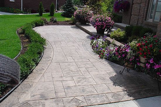 I would love to do this to my front walk way.