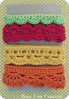 Crocheted trim!!! Bebe'!!! Love these!!!
