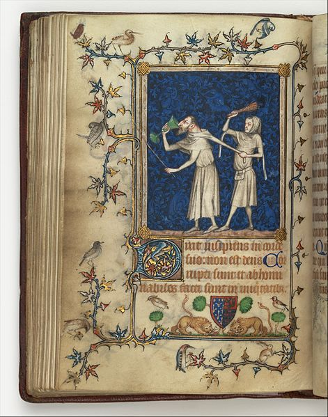 The Psalter of Bonne of Luxemburg, MMA New York (image is in the Public Domain).