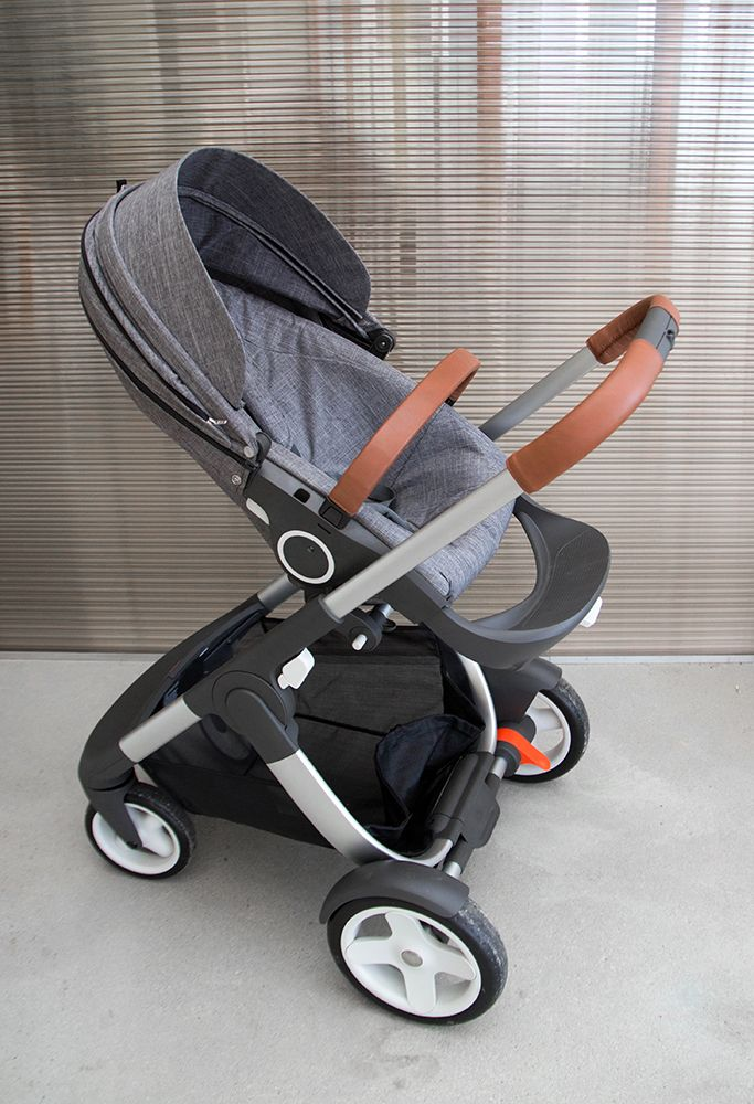STOKKE CRUSI- the stroller is so amazing and good quality. I love stokke products! They are so easy and lightweight! plus they look so chic