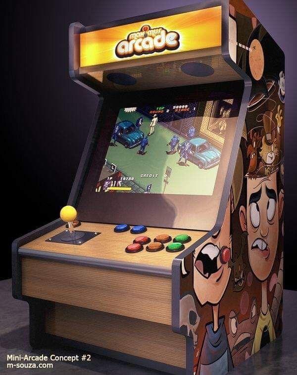 Pin De Andrew Tibble Em Arcade Arcade Maquina Arcade Fliperama
