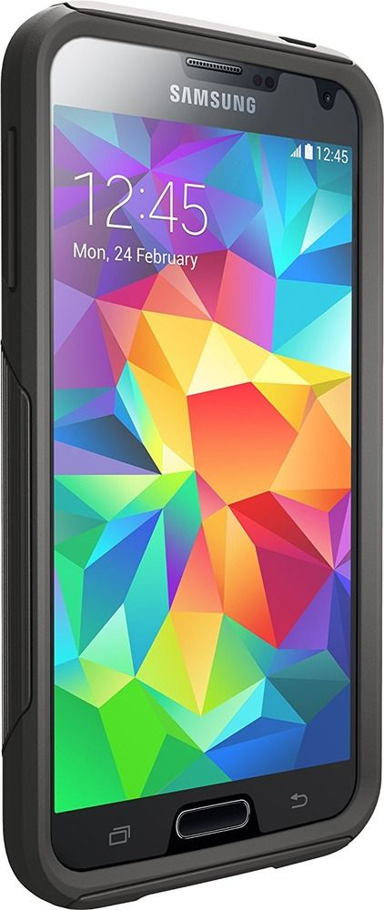 Otterbox Commuter Series Samsung Galaxy S5 Case, Frustration-Free Packaging, Bla